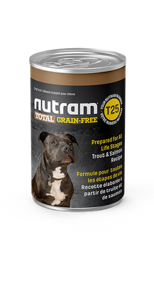 Nutram - Total Grain Free - Trout and Salmon 13 oz  - Wet Dog Food SALE