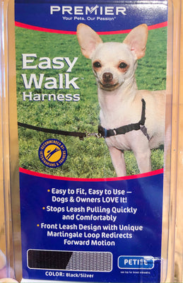 Easy walk dog harness