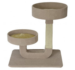 "Animal Treasures - Cat Scratcher - Double Pedestal 24"" - Item # 31146 SALE"