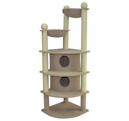 "Animal Treasures - Cat Scratcher - Skyscraper 66"" - Item # 31149"