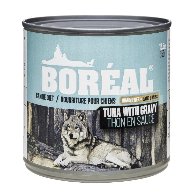 Boreal Tuna with Gravy dog cans 12.5 oz