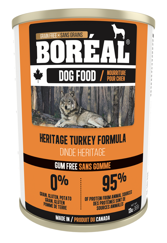 Boreal - Canned Dog Food - Heritage Turkey