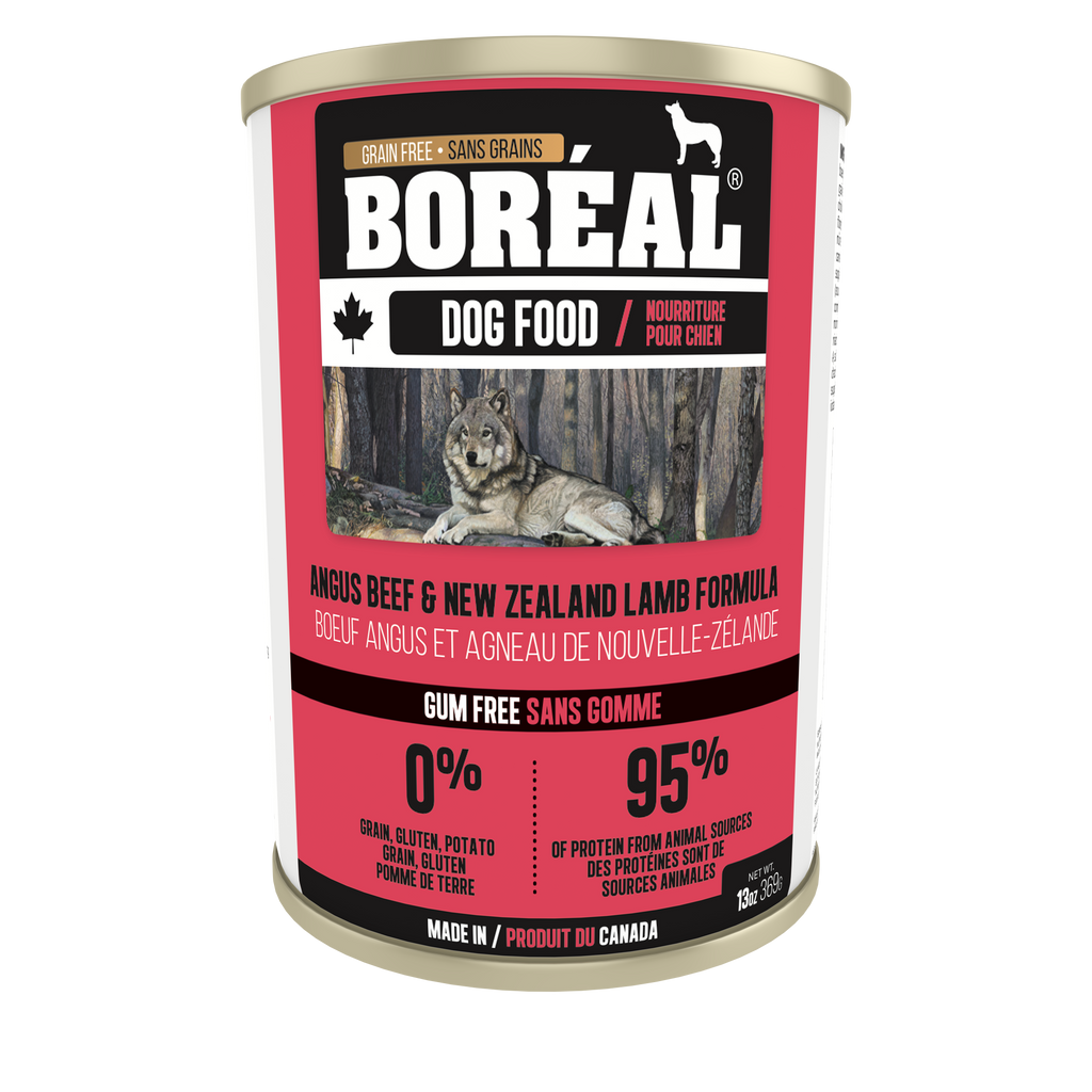 Boreal - Canned Dog Food - Angus Beef & New Zealand Lamb 13oz