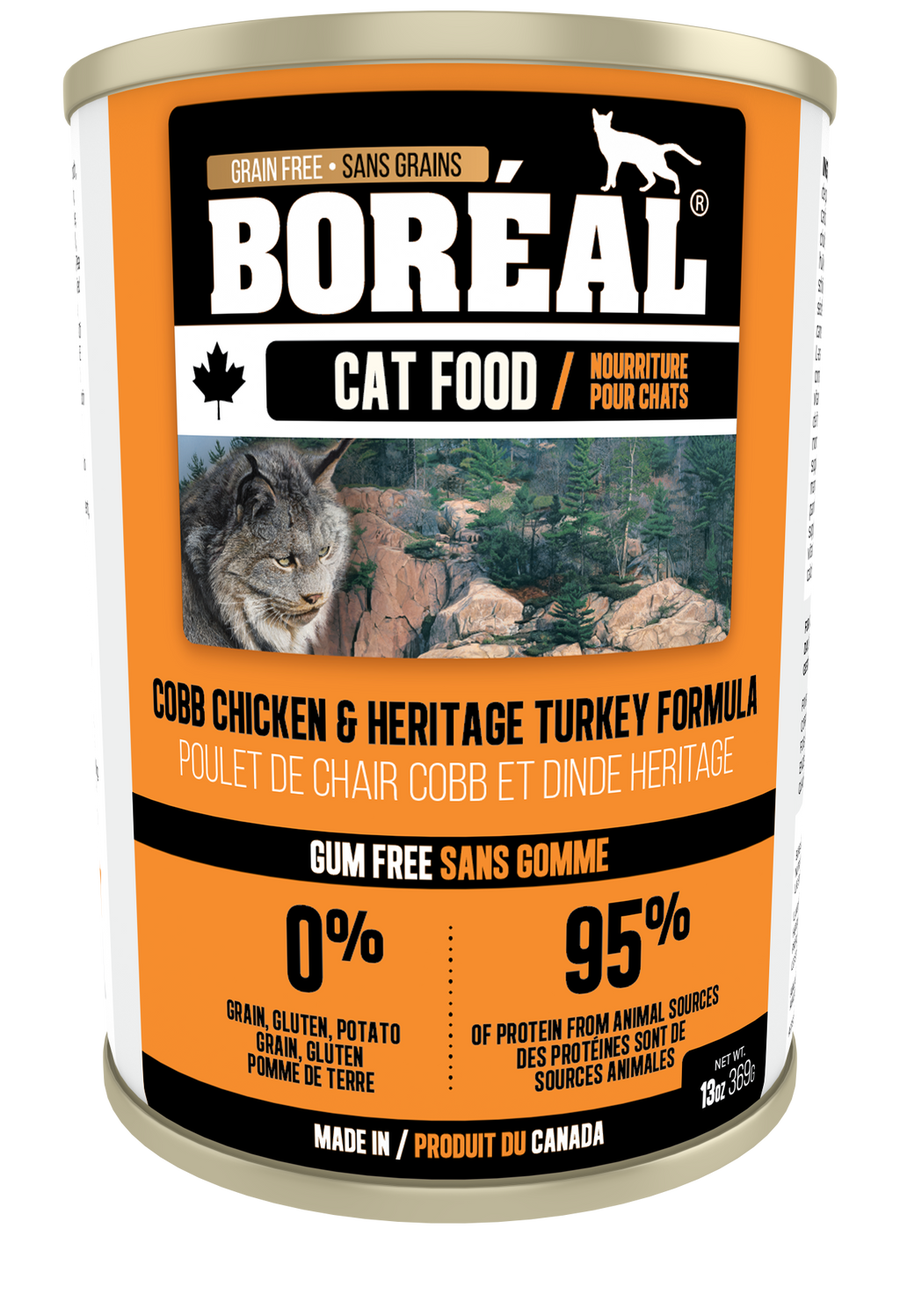 boreal wet cat food heritage turkey
