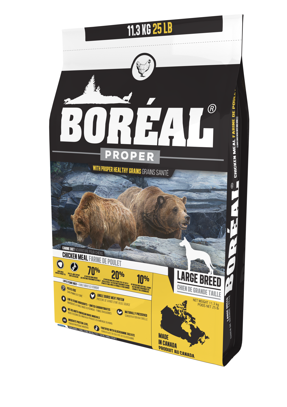 Boreal - Dry Dog Food - Proper Large Breed Chicken 11.33kg