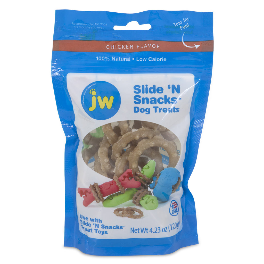 JW - Slide N' Snacks - Dog Treats SALE BLOWOUT $1.99