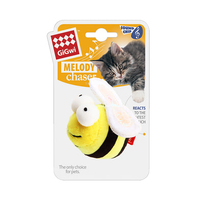 Gigwi Melody Chaser - Bee Cat Toy