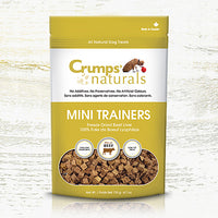 Crump's Naturals - Mini Trainers - Freeze Dried Beef  Dog Treats