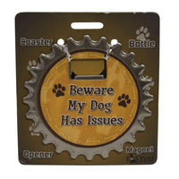 Bottle Ninja - 3 in 1 Magnets - Beware my dog has issues