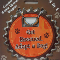 Bottle Ninja - 3 in 1 Magnets - Get Rescued Adopt a Dog