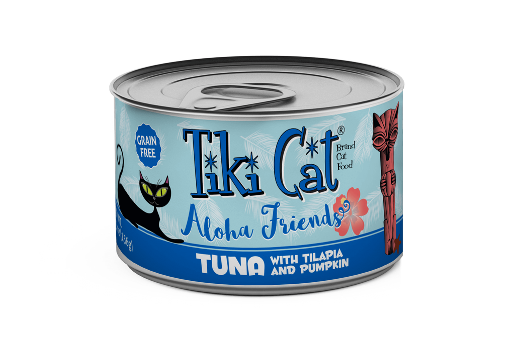 Tiki Cat - Aloha Friends - Tuna with Tilapia & Pumpkin