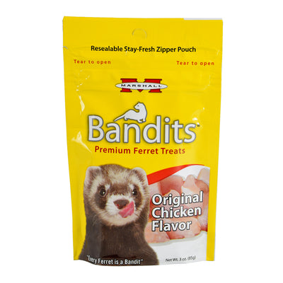 Bandits Premium Ferret Treat - Original Chicken - 3 oz
