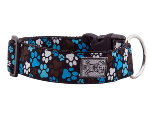 RC Pets - Wide Clip Collar - Pitter Patter Chocolate