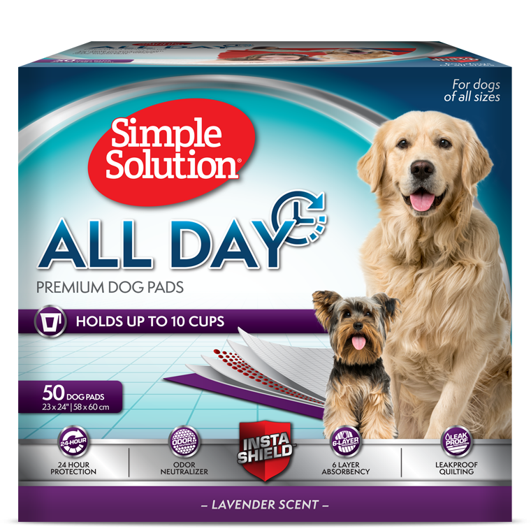 Simple Solution - All Day Premium Dog Pad 50 pack