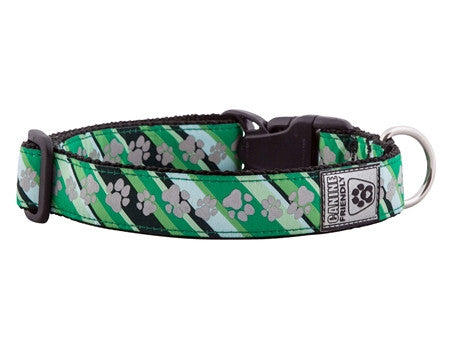 "Canine Friendly - Reflective Clip Collar - Dublin Paws - Small 10-16"" SALE"