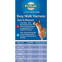 PetSafe easy walk dog harness sizing guide