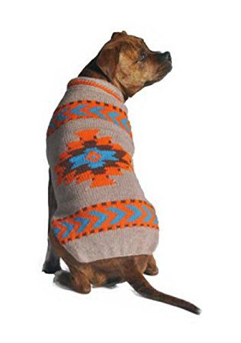 Chilly Dog Sweater - Tan Aztec SALE