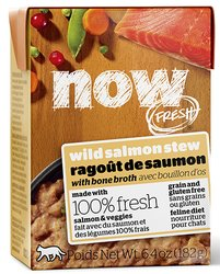 Petcurean now fresh wild salmon stew for cats