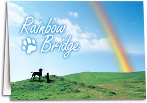 Sympathy Card - Rainbow Bridge