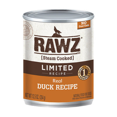 Rawz - Dog Can - Real Duck Recipe