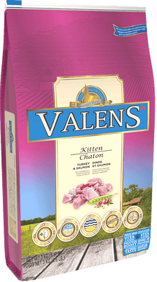 valens kitten food turkey and salmon