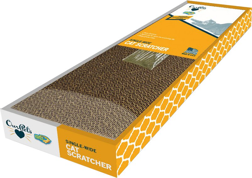 OurPets - Single-Wide Cat Scratcher