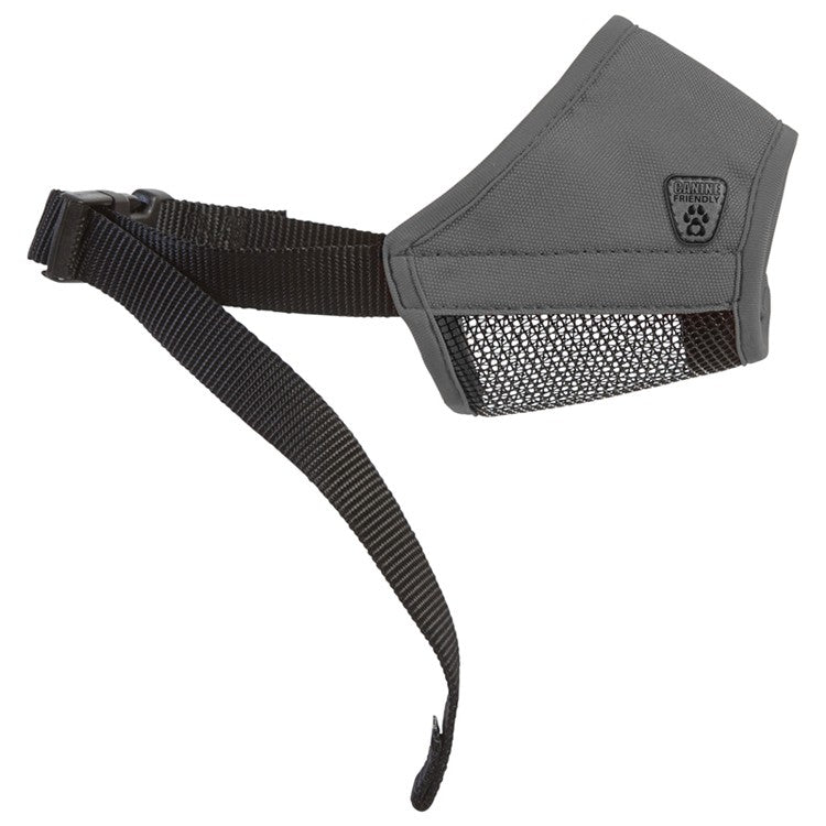 Canine Friendly - Soft Fit Muzzle - Charcoal