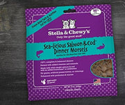 Stella & Chewy's - Freeze Dried Cat Food - Sea-Licious Salmon & Cod