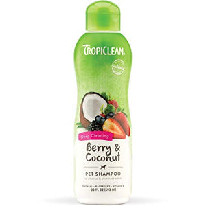 Tropiclean Deep Cleaning Shampoo - Berry & Coconut