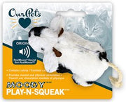 OurPets - Play-N-Squeak - Moody Cow