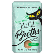 Tiki Cat  Broth  With Tuna In Broth 12 Pouches Of 1.3 oz