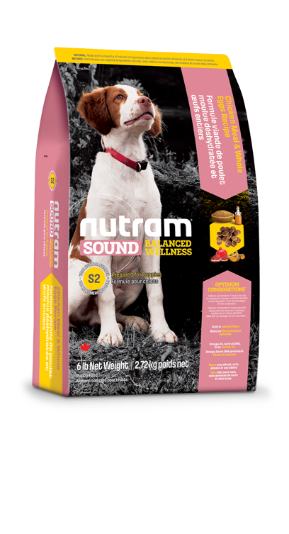 Nutram - Sound Balanced Wellness - Puppy - Dry Dog Food