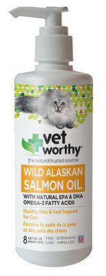 vet worthy wild alaskan salmon oil cats
