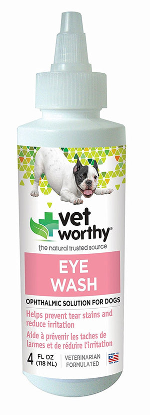 vet worthy tear stains eye wash dogs cats