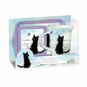Black Cat tea time gift set