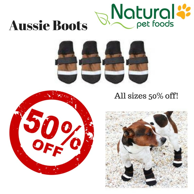 Aussie Boots Sale Natural Pet Foods
