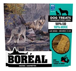 Boreal Dog Treats 100% Cod Wafers 92 gr