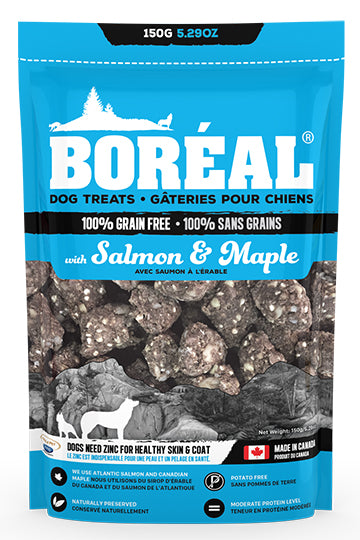 Boreal Salmon and Maple Dog Treats