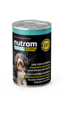 Nutram - Ideal Solution Support - Skin, Coat and Stomach - Wet Dog Food