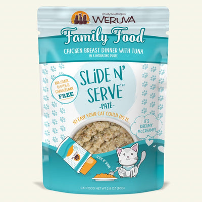 Weruva - Slide N' Serve - Family Food 2.8 oz pouch