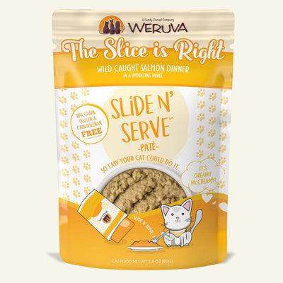 Weruva - Slide N' Serve - The Slice is Right 2.8 oz pouch