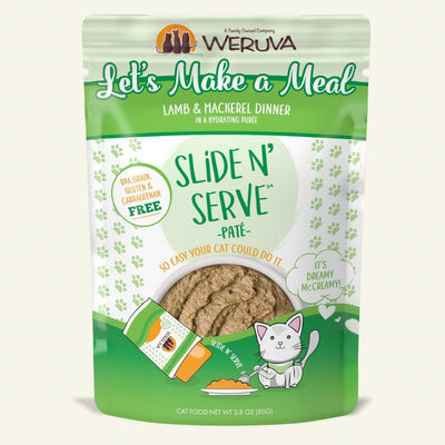 Weruva - Slide N' Serve - Let's Make a Meal 2.8 oz pouch