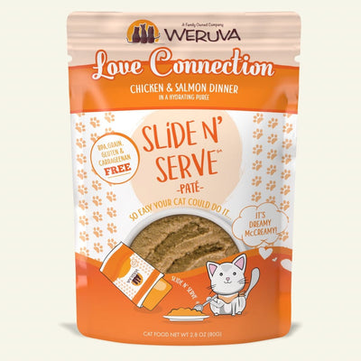 Weruva - Slide N' Serve - Love Connection 2.8 oz pouch