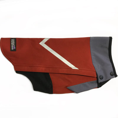 Canine Equipment Eclipse Dog Coat- Red SALE