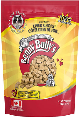 Benny Bully's Liver  Chop Cat treat