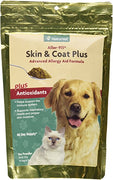 naturvet skin and coat plus aller 911 antioxidants dog cat