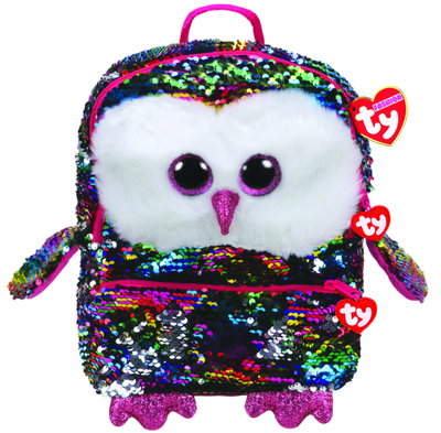 TY Beanie Sequin Backpack - Owen SALE
