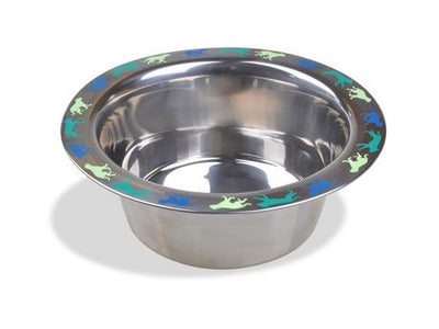 Vanness Stainless Decorated Dish 32oz