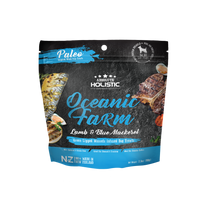 Absolute Holistic Oceanic Farm Blue Mackerel and Lamb 100g infused with Green Lipped Mussels