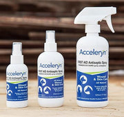 Accelerant wound cleaner